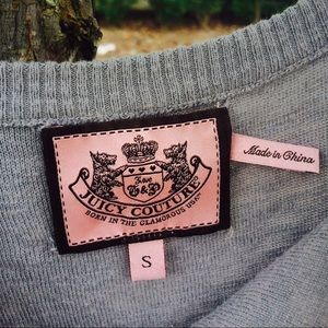 Juicy Couture light sweater