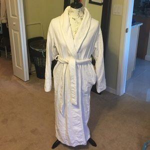 Terry cloth robes victoria secret