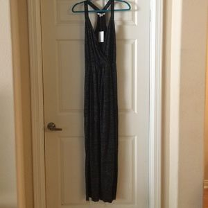 Bella luxx charcoal triblend maxi dress