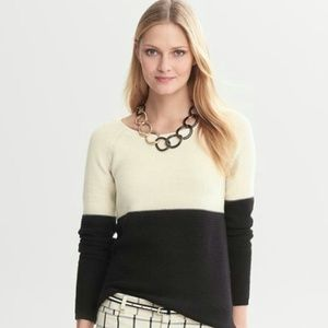 {banana republic} ribbed merino wool sweater