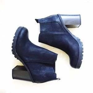 Sam & Libby Boots - Black chunky boots
