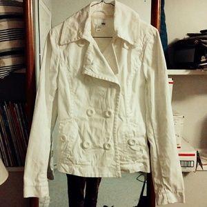 Cute H&M White Coat