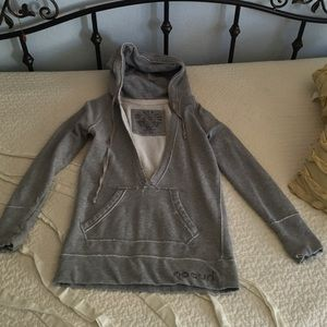 Rip Curl Jackets & Blazers - Rip Curl Grey Hoodie size S