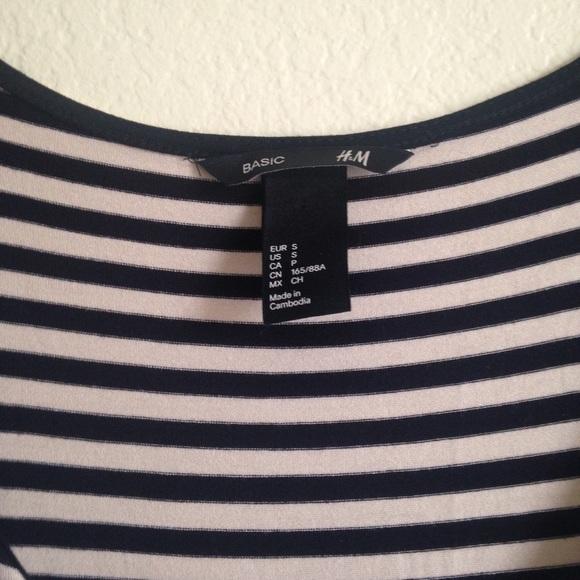 •h&m• Striped Dress