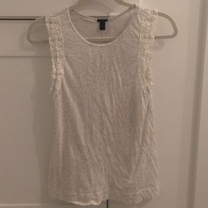 ♡J. Crew Tank Top with Embroidery Detail♡