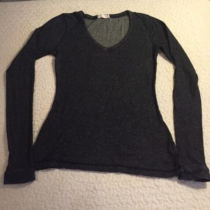 Forever 21 Tops - Soft Black Textured Long Sleeve