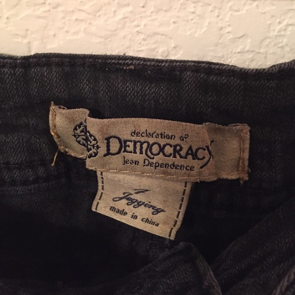 Democracy Justice Jeggings Democracy Black Jeggings✨
