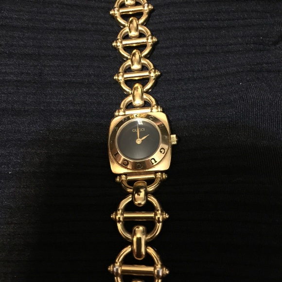 a400d583588 Gucci Jewelry - 💕AUTHENTIC VINTAGE GUCCI HORSEBIT LINK WATCH💕