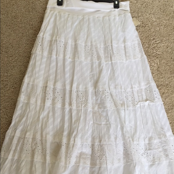 Long White Summer Skirts