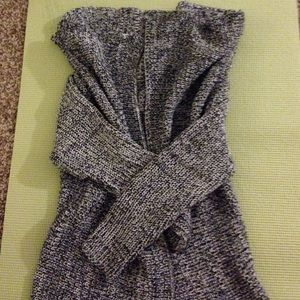 Sweaters - SOLD BRANDY MELVILLE Grey marbled cardigan