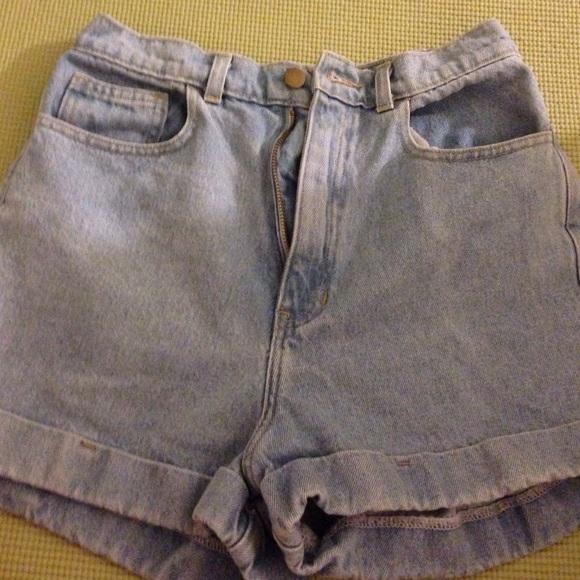American Apparel Denim - AMERICAN APPAREL denim shorts