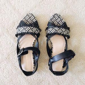 Loeffler Randall Shoes - Loeffler Randall Raffia Straw Sandals