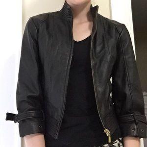 Arden b leather jacket