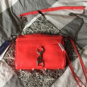 Rebecca Minkoff Handbags - Hot red REBECCA MINKOFF Mini Mac Cross Body Purse