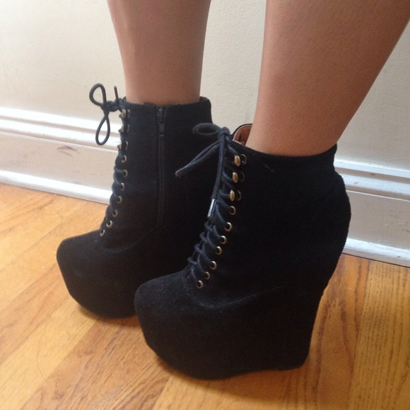 watch fe3d7 d8071 Jeffrey Campbell Shoes - Jeffrey Campbell Black Suede Damsel