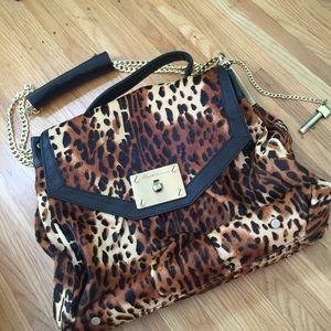 Kenneth Cole Handbags - Kenneth Cole Leopard Shoulder Bag