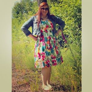 Ralph Lauren Dresses & Skirts - ⬇️ Ralph Lauren Floral Print Sundress (Plus Size)