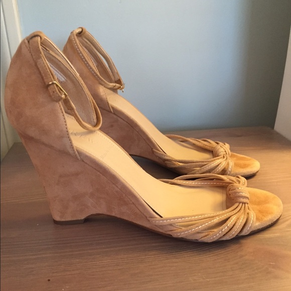 69 j crew shoes jcrew suede wedge sandals from