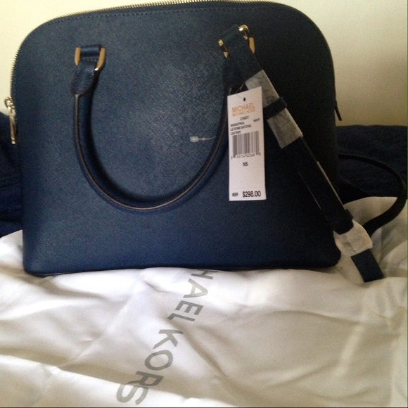 37% off Michael Kors Handbags - Michael Kors LG Dome Satchel in ...