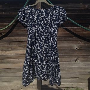 Foreign Exchange Dresses & Skirts - Navy blue floral dress