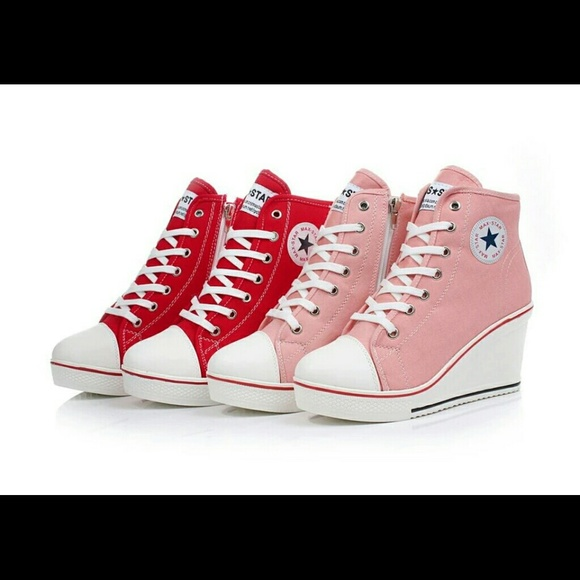 Wedge Heel Converse Shoes