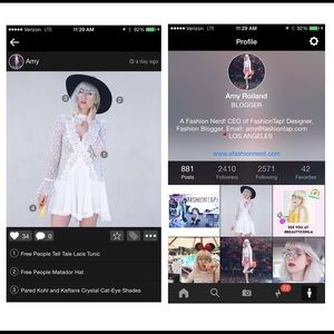 Accessories - FashionTap a new fashion social network app