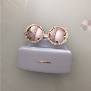Karen walker filigree orbit sunglasses