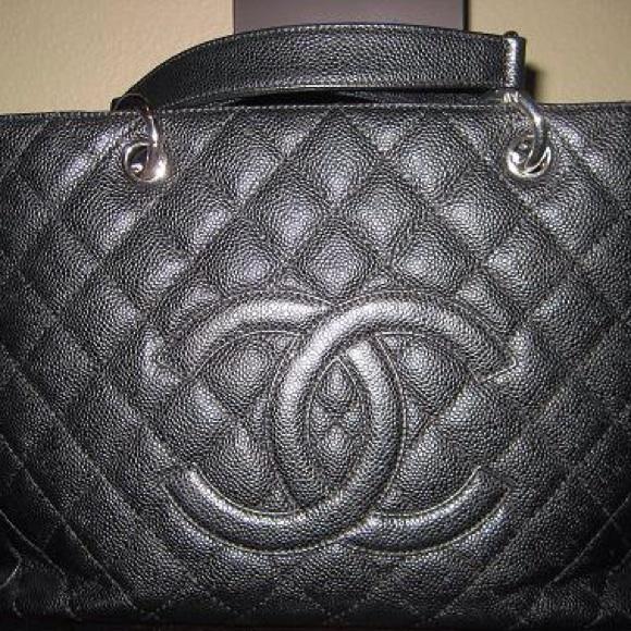 32afb1f48c80 CHANEL Bags | Authentic Gst Black Caviar | Poshmark