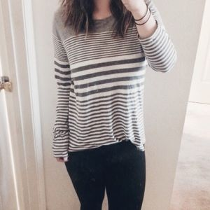 Vince striped top!