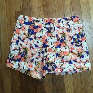 J.crew shorts in floral print