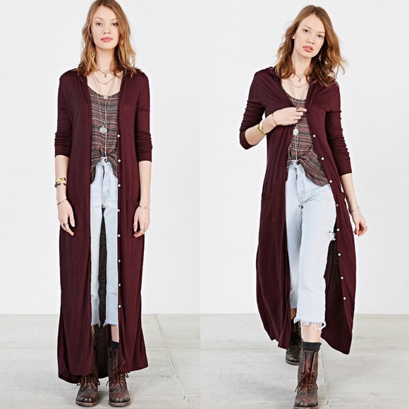 67% off Urban Outfitters Jackets & Blazers - UO Ecote Easy Hooded ...