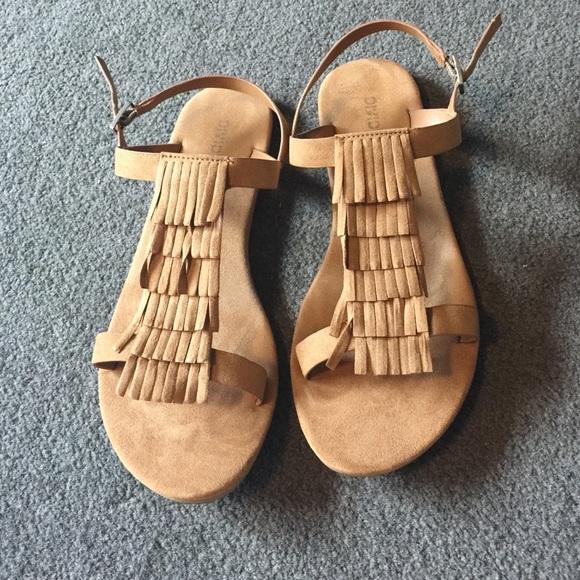 bb3f56bc2 H M Shoes - H M Fringe Sandals