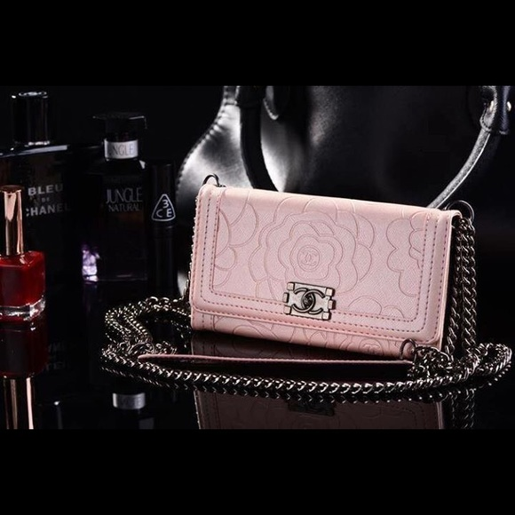 Chanel Iphone 6 Case With Chain Chanel Camelia 4.7 Iphone 6