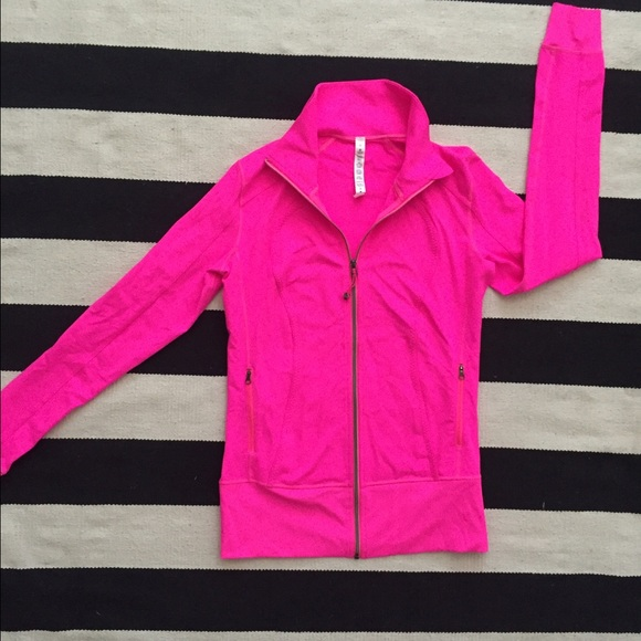 lululemon athletica - Hot pink lululemon zip up jacket from Sam's ...