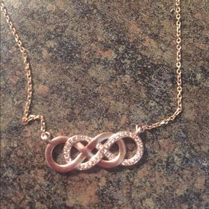 Jewelry - White Gold Infinity Necklace
