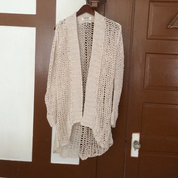 72% off All Saints Sweaters - All Saints cream colored open weave ...