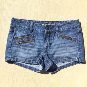 American Eagle Outfitters Pants - American Eagle Denim Shorts with Zippers