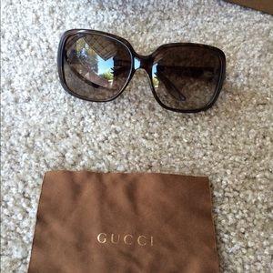 Gucci 3166/S Havana Brown/Gradient Sunglasses