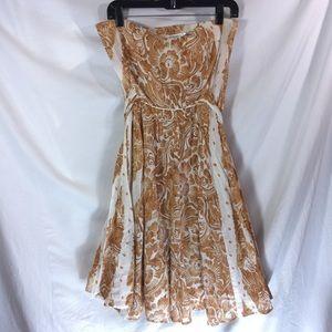 Dvf Dress Charlie DVF strapless wrap dress