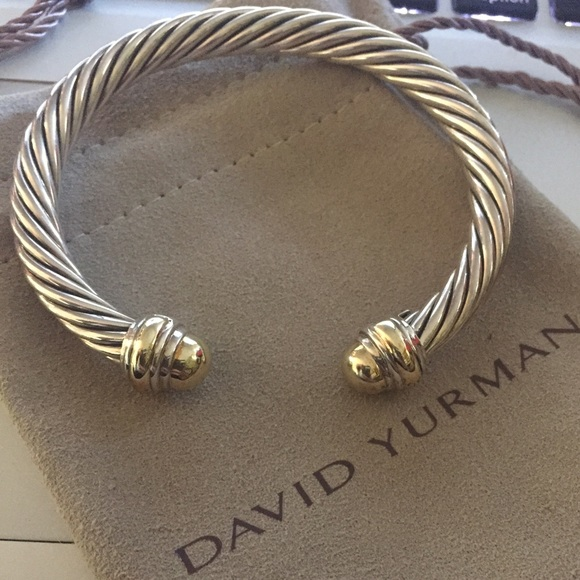 1a81eb440f8f3a David Yurman Jewelry - David Yurman Cable Classics Bracelet with Gold.