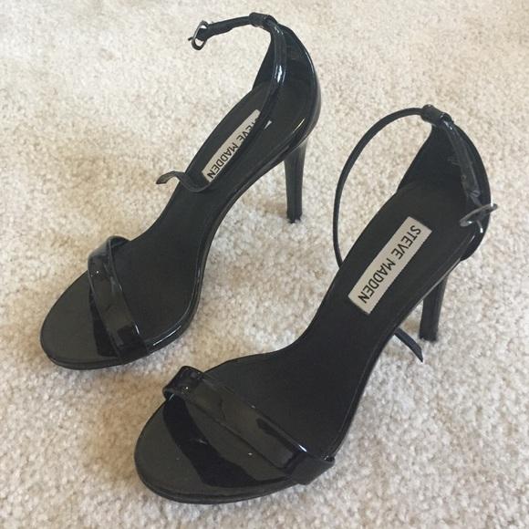 f435a24b66 Steve Madden Stecy black ankle strap sandal heels.  M_55a319dfc46d1f187a00cc37