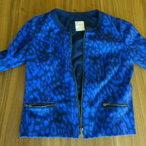 Blue GAP blazer with print