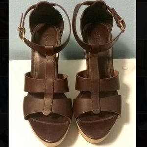 J.Crew Leather Wedges!