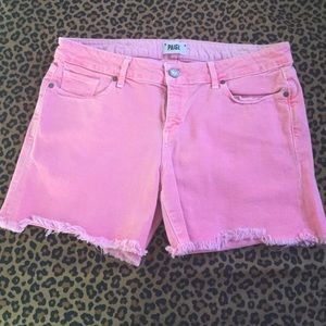 Paige cutoff shorts!