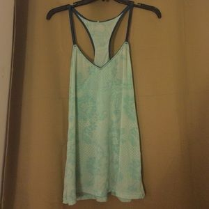 Tops - Sheer lace tank top (S)