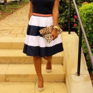 Eshakti Dresses & Skirts - Striped Skirt