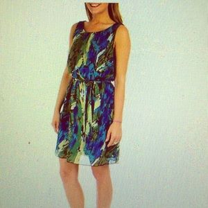 Dresses & Skirts - NWT Printed Chiffon Dress