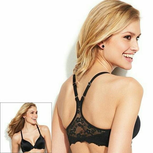 64 off maidenform other sale nwot black racerback bra for Maidenform t shirt bra sale
