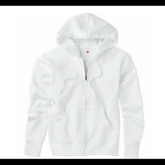 65% off H&M Outerwear - All white woman's hoodie from Chantal's ...