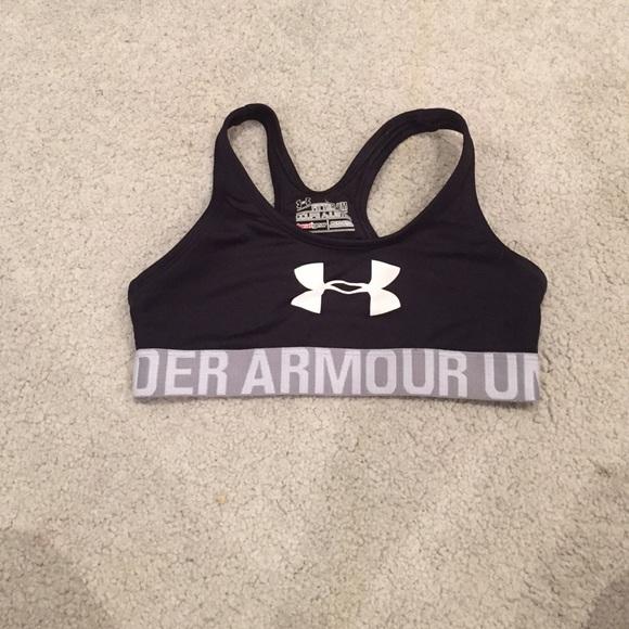 under armour sports bra kids
